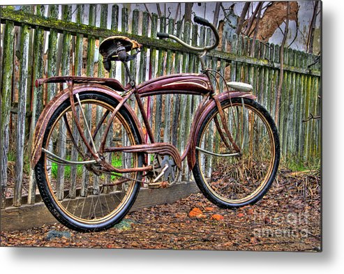 Bicycle Metal Print featuring the photograph Forgotten Ride 1 by Jim And Emily Bush