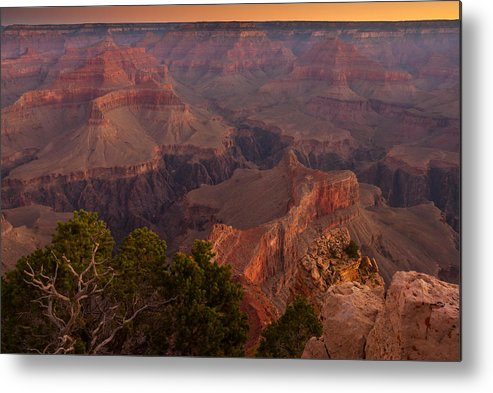 Grand Canyon Photographs Metal Print featuring the photograph Grand Canyon Morning Light by Andre Distel