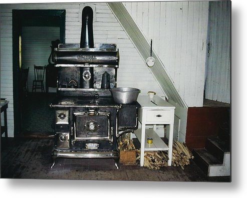 Oldtimers Metal Print featuring the photograph Grandma's Kitchen by Shirley Sirois