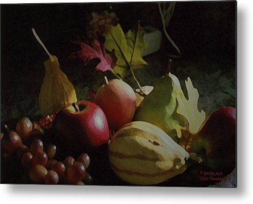 Harvest Metal Print featuring the photograph Harvest II by Eileen Blair
