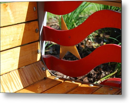 Outdoors Metal Print featuring the photograph Hidden Star by Michael L Gentile