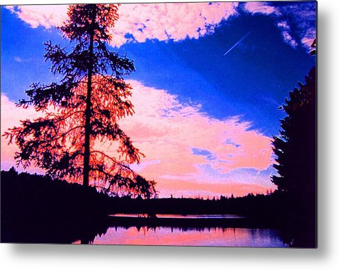 Landscape Metal Print featuring the photograph Incoming Over Algonquin Park 2 Ae by Lyle Crump