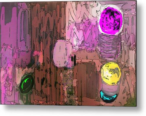 Integral Digital Painting Metal Print featuring the painting Integral Painting by Don Wright