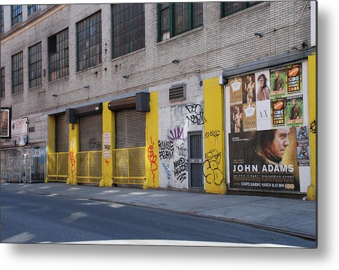 Architecture Metal Print featuring the photograph John Adams by Rob Hans