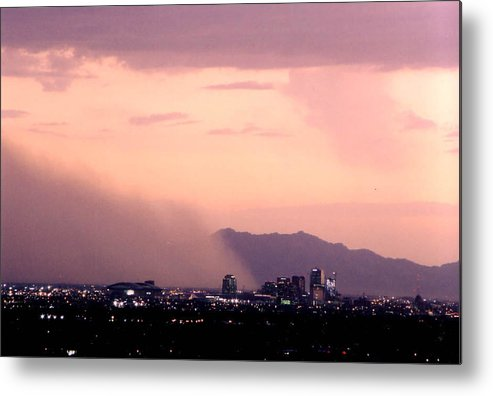 Arizona Metal Print featuring the photograph July Dust by Cathy Franklin