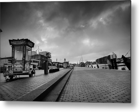 Harbour Metal Print featuring the photograph Lonely Fair by Davina Scheper