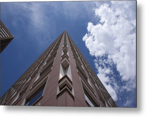 Architecture Metal Print featuring the photograph Long Way Up by Brian Anderson