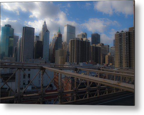 New York City Metal Print featuring the photograph Lower Manhattan by Patrick Flynn