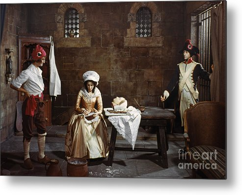 1793 Metal Print featuring the photograph Marie Tussaud (1760-1850) by Granger