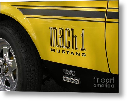 Race Car Metal Print featuring the photograph Mark Of The Beast by Richard Rizzo