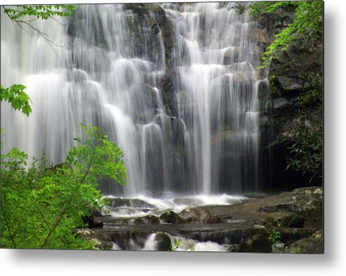 Meigs Falls Metal Print featuring the photograph Meigs Falls 2 by Marty Koch