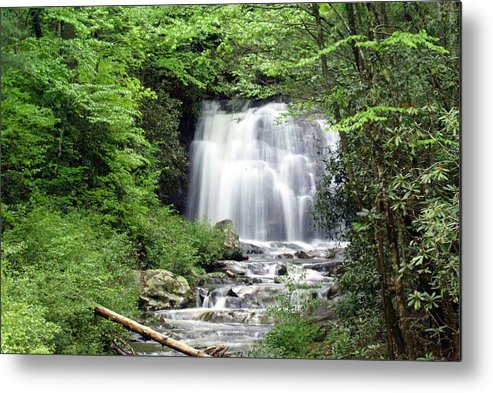 Meigs Falls Metal Print featuring the photograph Meigs Falls by Marty Koch