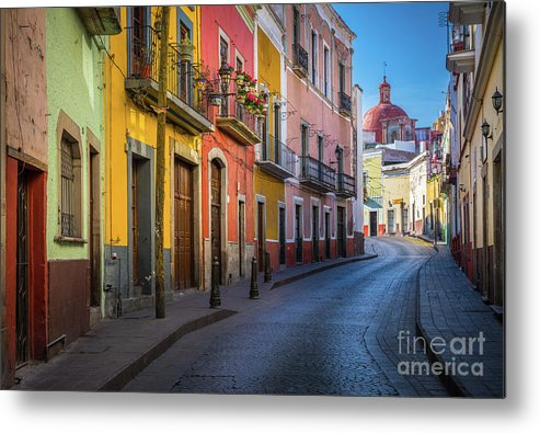America Metal Print featuring the photograph Mexico Street by Inge Johnsson
