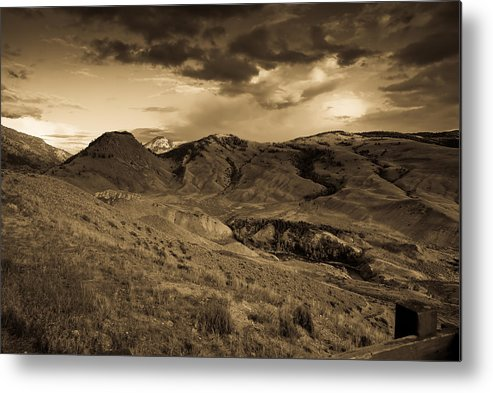 Montana Metal Print featuring the photograph Montana Landscape by Patrick Flynn