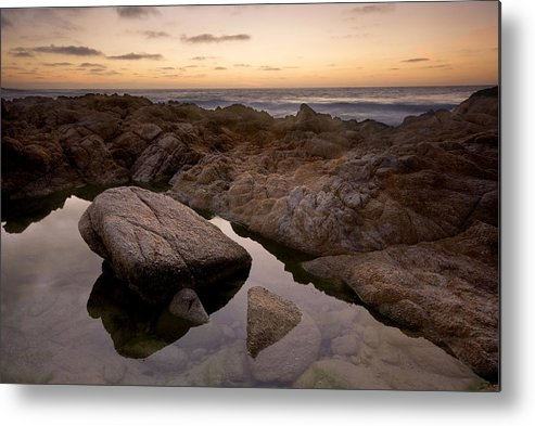 Monterey Metal Print featuring the photograph Monterey Sunset by Mike Irwin