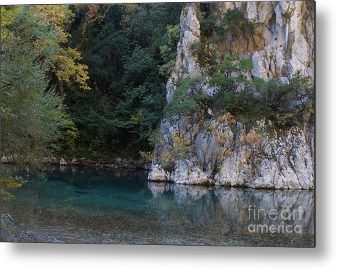 River Metal Print featuring the photograph Mountain River by Loukianos Petrovas