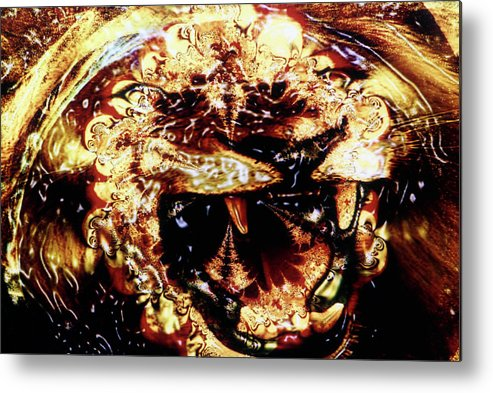 Lion Metal Print featuring the photograph Natural Power by Johnny Aguirre