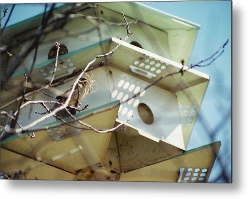 Bird House Metal Print featuring the photograph New Season by Jennifer Trone