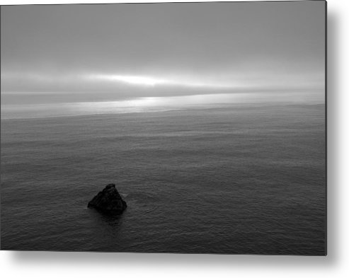 Ocean Metal Print featuring the photograph Ocean by Jessica Wakefield