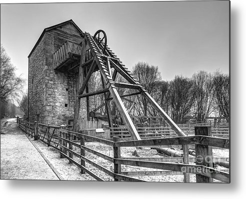 Mine Metal Print featuring the photograph Old Mine by Adrian Evans
