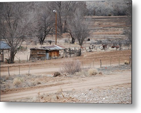 House Metal Print featuring the photograph Old Ranch House by Rob Hans