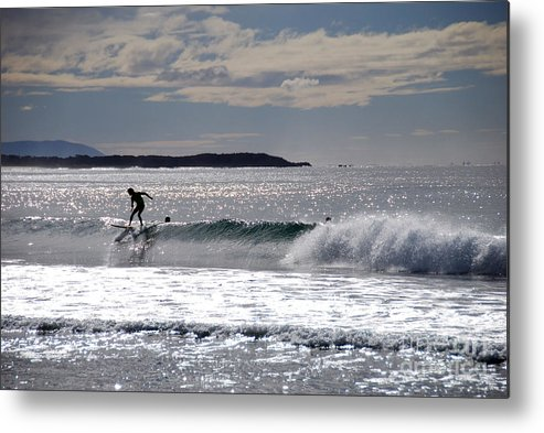 Beach Metal Print featuring the photograph On Top Of The World by Joe Scoppa