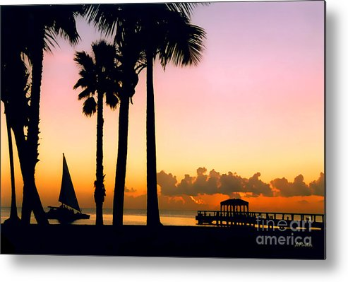 Impressionism Metal Print featuring the photograph Paradise In Nevis by Linda Parker