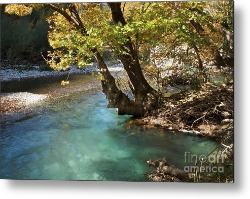 River Metal Print featuring the photograph Paradise River by Loukianos Petrovas