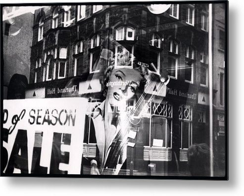 Marilyn Metal Print featuring the photograph Photograph Of Marilyn by Charles Stuart