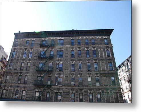 Architecture Metal Print featuring the photograph Physical Graffitti by Rob Hans