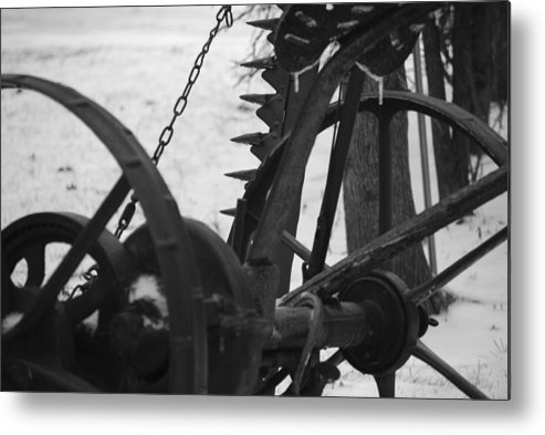Machinery Metal Print featuring the photograph Plow by Peter McIntosh