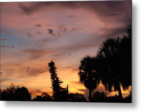 Sunset Metal Print featuring the photograph Rainbow Sunset by Rob Hans