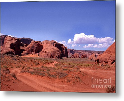 Arizona Metal Print featuring the photograph Red Dirt Road by Thomas R Fletcher