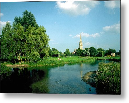 Salisbury Metal Print featuring the photograph Salisbury Cathedral by John Bray