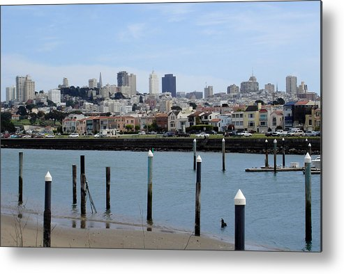 San Francisco Metal Print featuring the photograph San Francisco by Michael Simeone