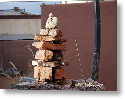 Pop Art Metal Print featuring the photograph Sante Fe Rocks by Rob Hans