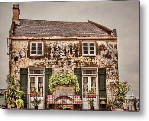 Cottage Metal Print featuring the photograph Second Story Cottage by Steven Parker