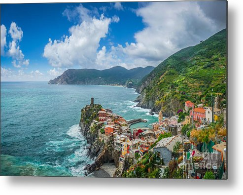 Beach Metal Print featuring the photograph Shores Of Cinque Terre by JR Photography