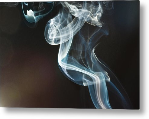 Fum�e Metal Print featuring the photograph Smoke 10 by Francis Hurtubise