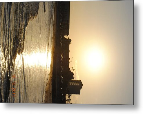 Metal Print featuring the photograph Sunset by Courtney Miles