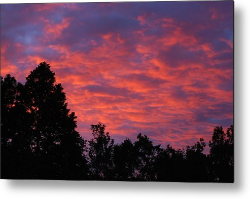 Sunset Metal Print featuring the photograph Sunset In Antioch by Lisa Gabrius