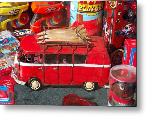 Photography Metal Print featuring the photograph Surf Bus by Heather S Huston