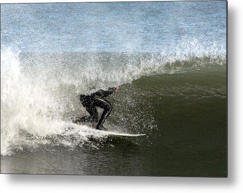 Surfer Art Metal Print featuring the photograph Surfing 151 by Joyce StJames