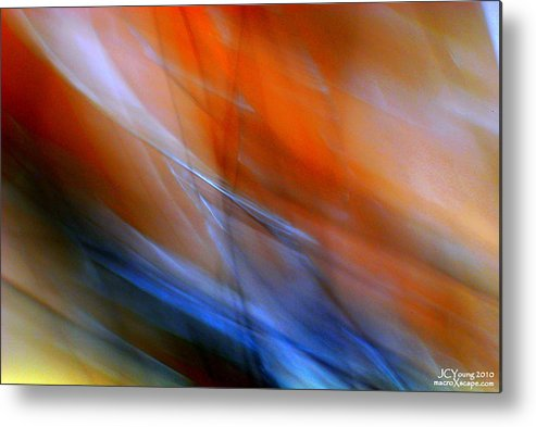 Impressionist Metal Print featuring the photograph Swept Away by Jim Young