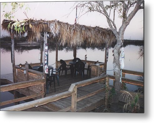 Landscape Metal Print featuring the photograph Teka Hut by Wendell Baggett