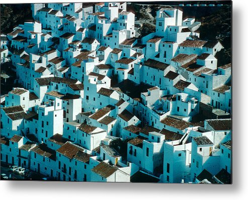 Mountain Metal Print featuring the photograph The Ancient Village Of Cacares by Carl Purcell