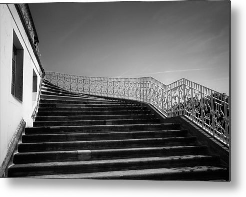 Scenery Metal Print featuring the photograph The Kings Steps by Dorit Fuhg