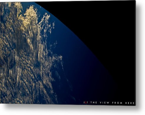 Earth Metal Print featuring the photograph The View From Here by Jonathan Ellis Keys