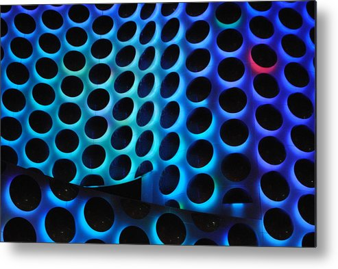 Dots Metal Print featuring the photograph The Wave by Maria Lopez
