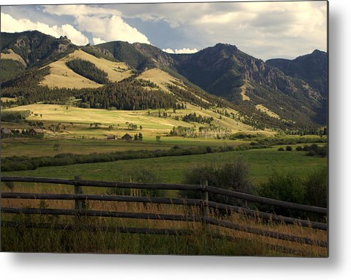 Landscapes Metal Print featuring the photograph Tom Miner Vista by Marty Koch